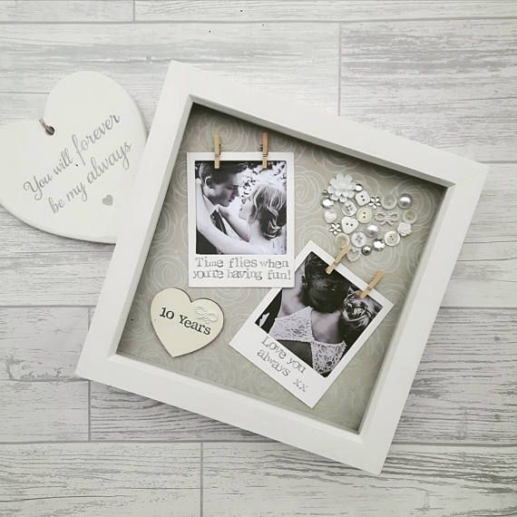 Check Out This Item In My Etsy Shop Https Www Etsy Com Uk Listing 501686826 Anniversary Frame Anniversary Frame Boyfriend Anniversary Gifts Anniversary Gifts
