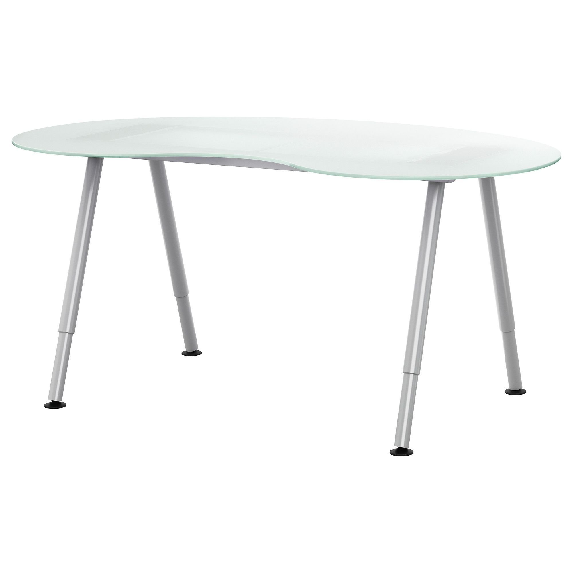 Us Furniture And Home Furnishings Ikea Glass Desk Ikea Glass Table Office Furniture Design