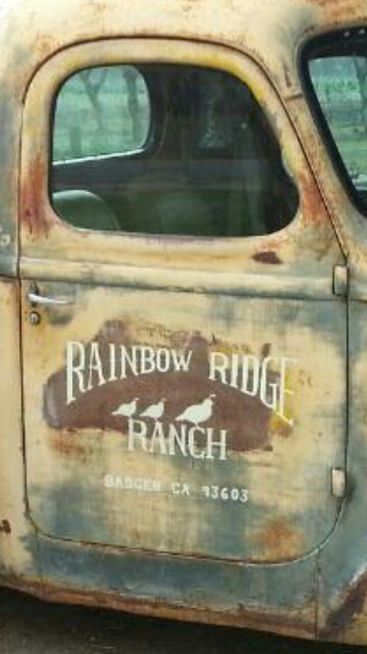 Pin By Sue Gunderman On Old Truck Door Signs Truck Lettering Vehicle Signage Car Lettering