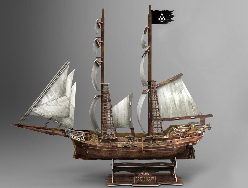 Jackdaw Model Ship 3 D Assassin S Creed Iv 4 Black Flag