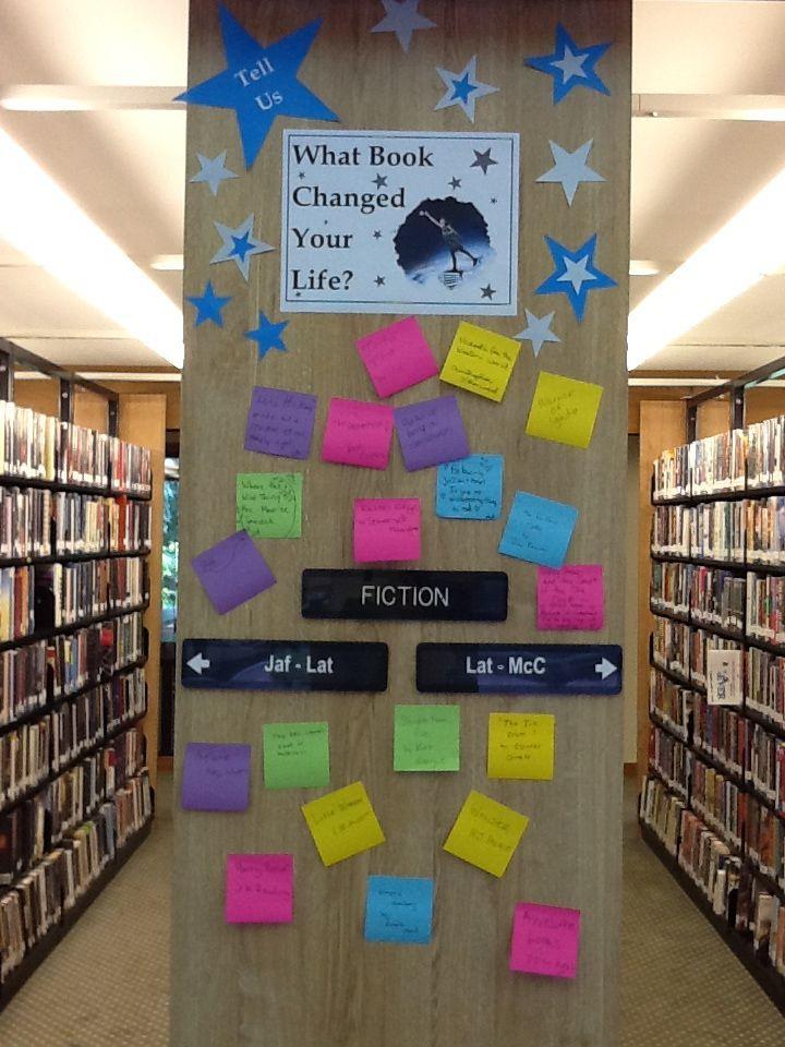 School Library Displays Elementary School Library Library Book Displays