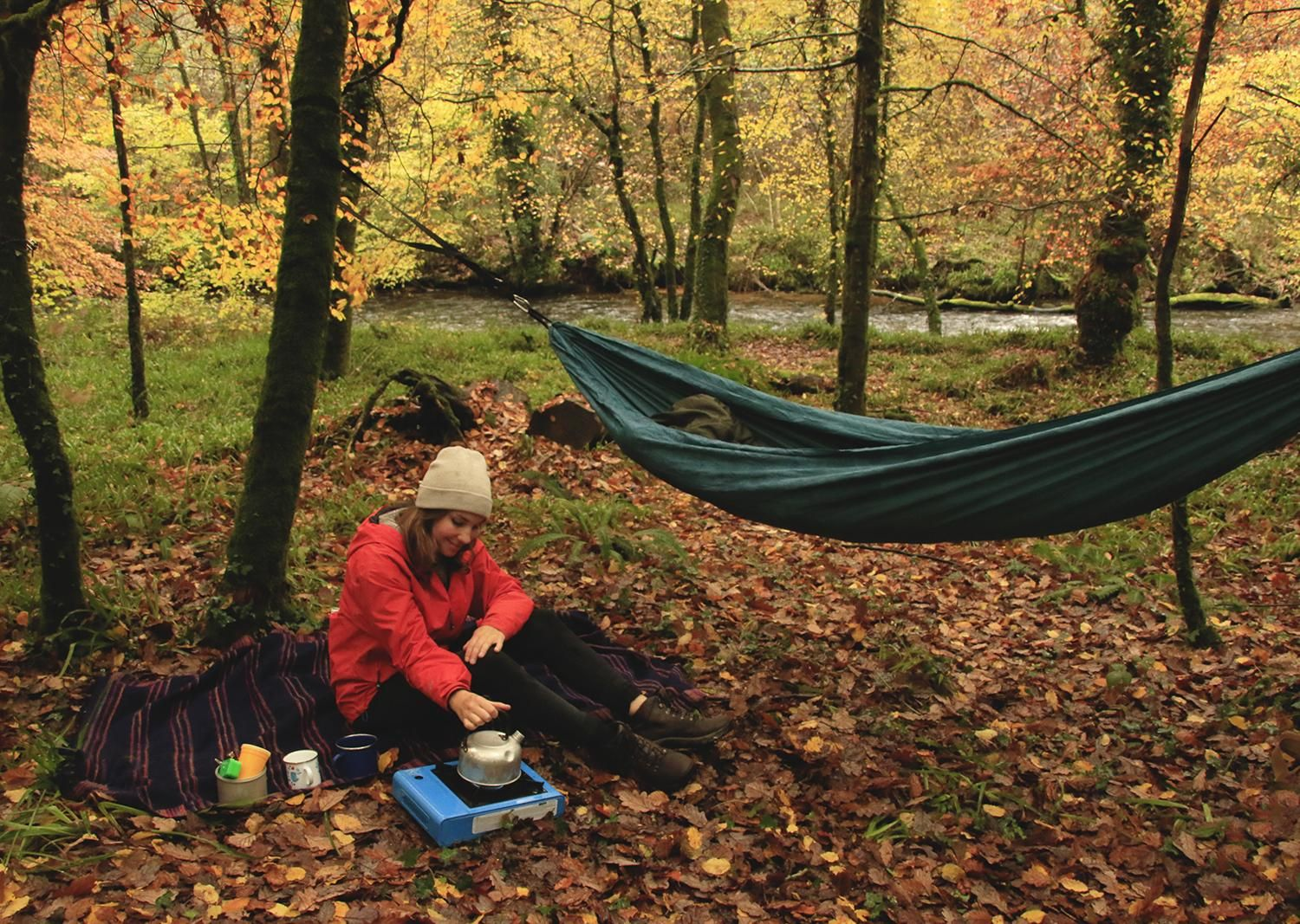 A weekend of exploring on the moors and hammock camping in the woods