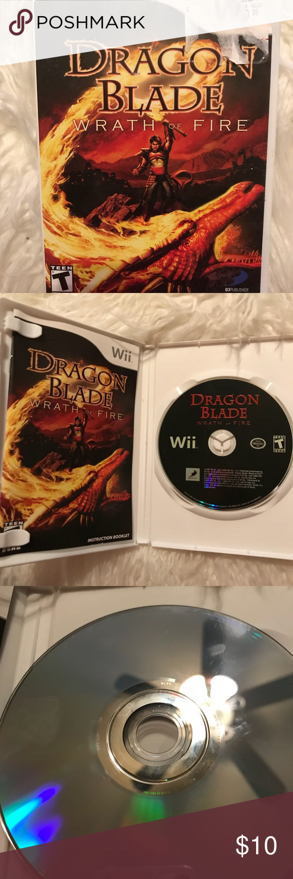 wii dragon blade wrath of fire game | dragon blade, conditioner and ea