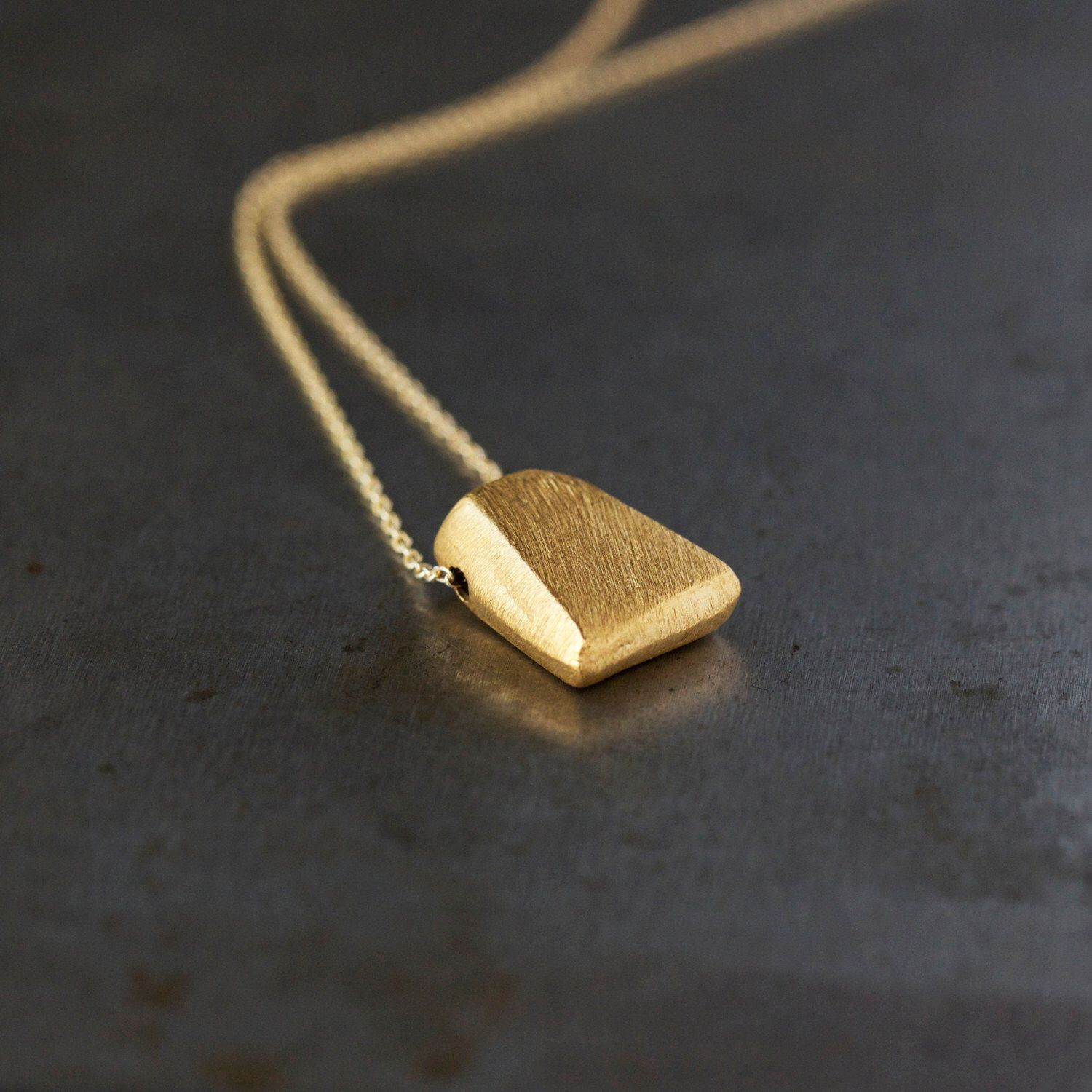 Gold Triangle Necklace 14k Gold Filled Layering Jewelry Gold Etsy Gold Triangle Necklace Layered Jewelry Triangle Necklace