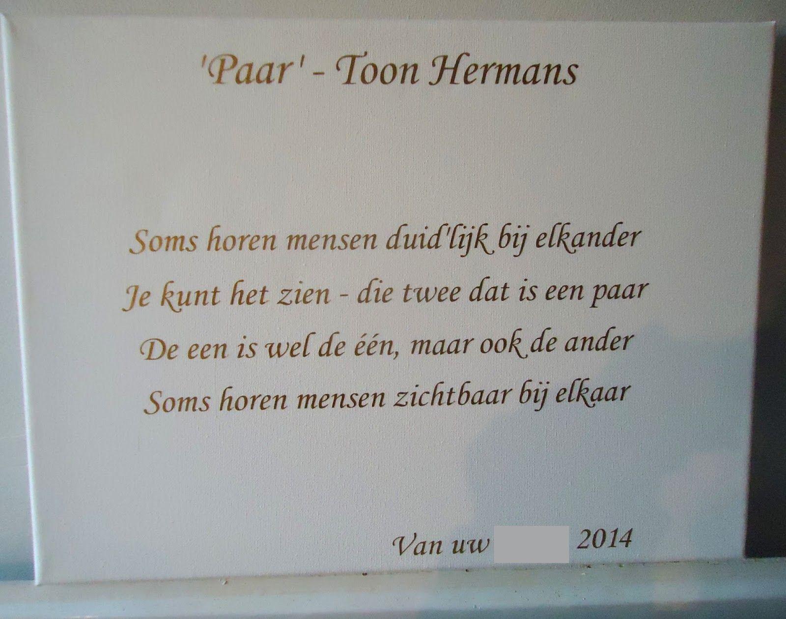 gedicht 50 jaar getrouwd toon hermans Gedichtjes Huwelijk Toon Hermans   ARCHIDEV gedicht 50 jaar getrouwd toon hermans