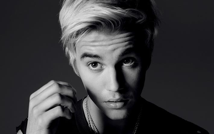 Télécharger fonds d'écran Justin Bieber, le portrait, la chanteuse Canadienne, de la musique pop, la jeune star