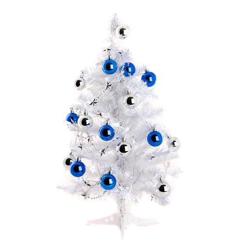 2ft Decorated White Christmas Tree | Poundland - 2ft Decorated White Christmas Tree Poundland You Need To Try
