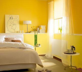 Honey Und Ein Weiterer Gelbton Hier Scheint Auch An Regentagen Die Sonne Schoner Wohnen Farbe Wohnen Schoner Wohnen