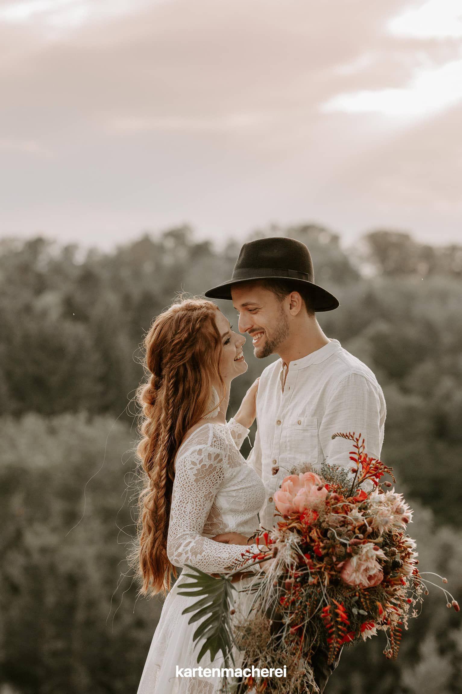 Liebe bis ins kleinste Detail: So gelingt die magische Boho-Hochzeit