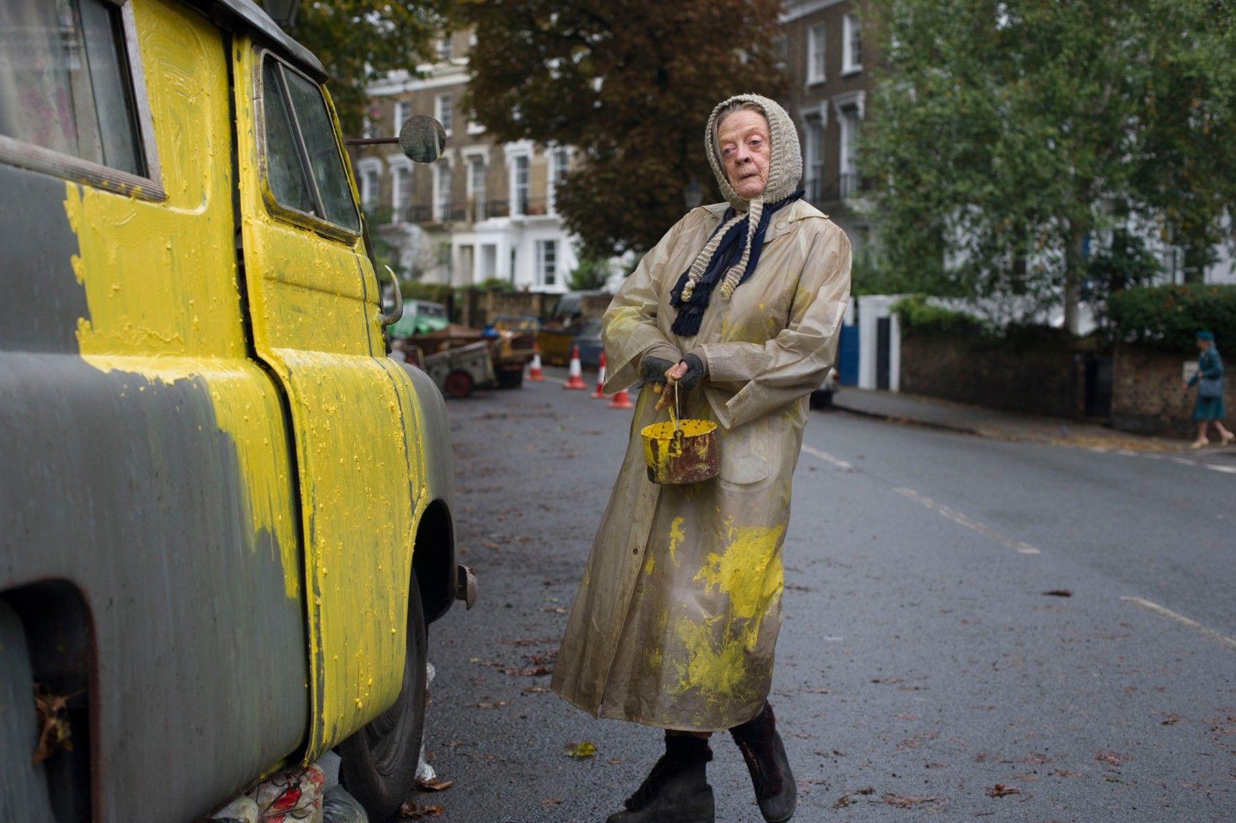 سر المتشردة ماري في فيلم «سيدة الفان» on سينماتوغراف http://cinematographmag.com