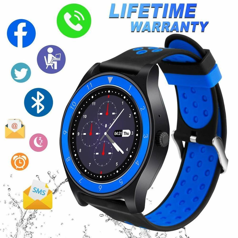 Smart Watch Bluetooth Smartwatch Touch Screen Wrist Watch With