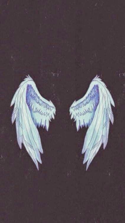 Imagen De Wings Angel And Wallpaper Wings Wallpaper Tumblr Wallpaper Angel Wings Illustration Aesthetic iphone angel wings wallpaper