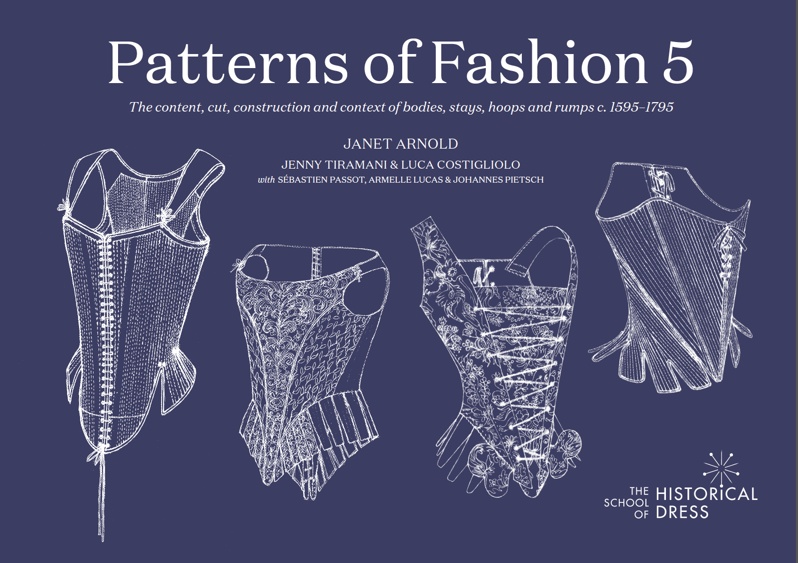 Publications Patterns Of Fashion Historical Dresses Fashion Books