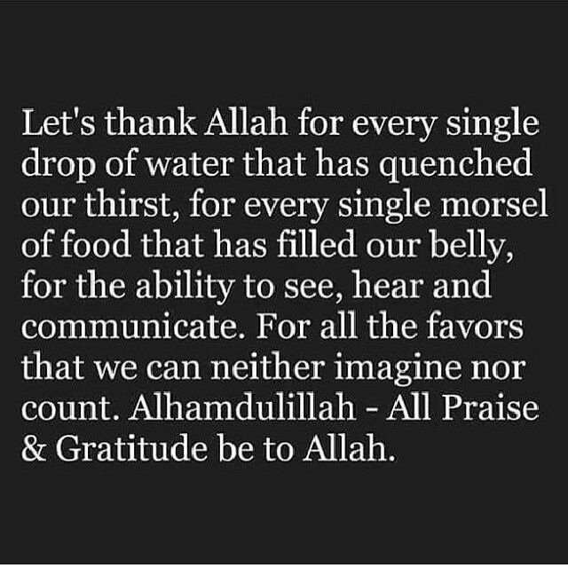 Thank You Allah For Everything Quotes: Alhamdulilah Thank You So Much Allah :') ..
