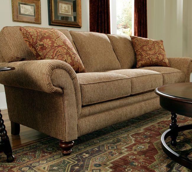 broyhill leather sofa - Broyhill Sofa