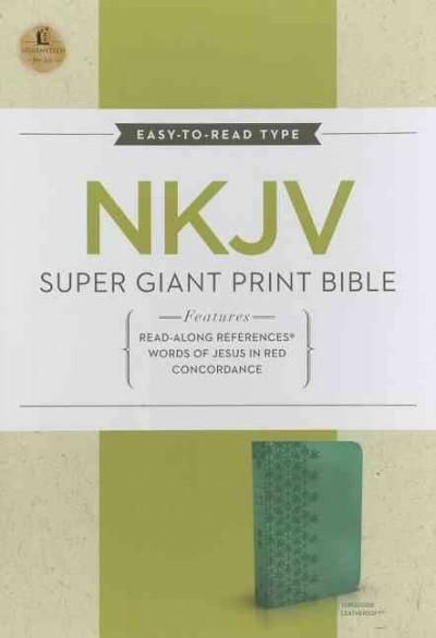 Holy Bible: New King James Version Super Giant Print Reference Bible
