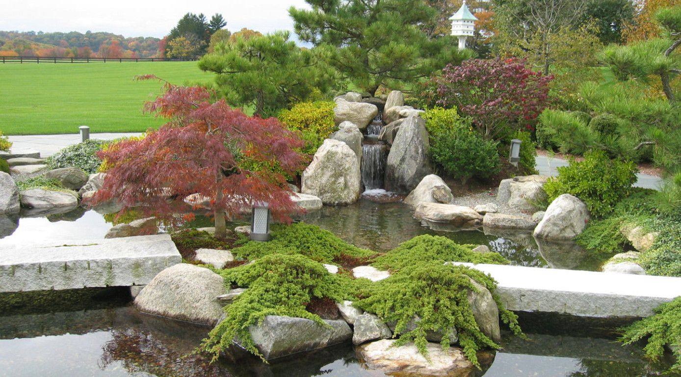 Superior Japanese Water Garden Design Boston Zen Associates