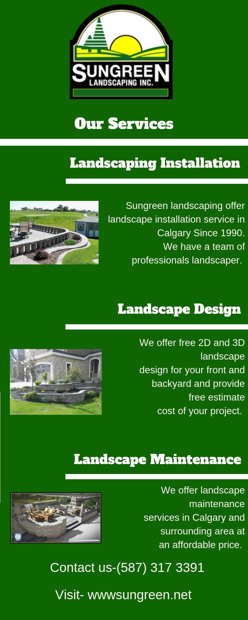 Residential Commercial Landscaping Services In Calgary