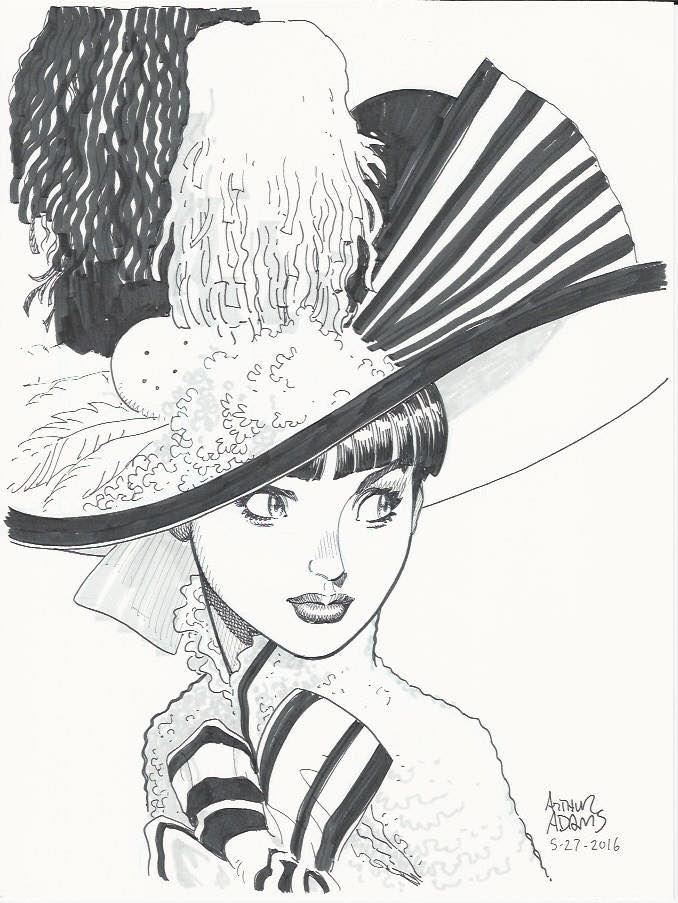 My Fair Lady - Audrey Hepburn by Arthur Adams *