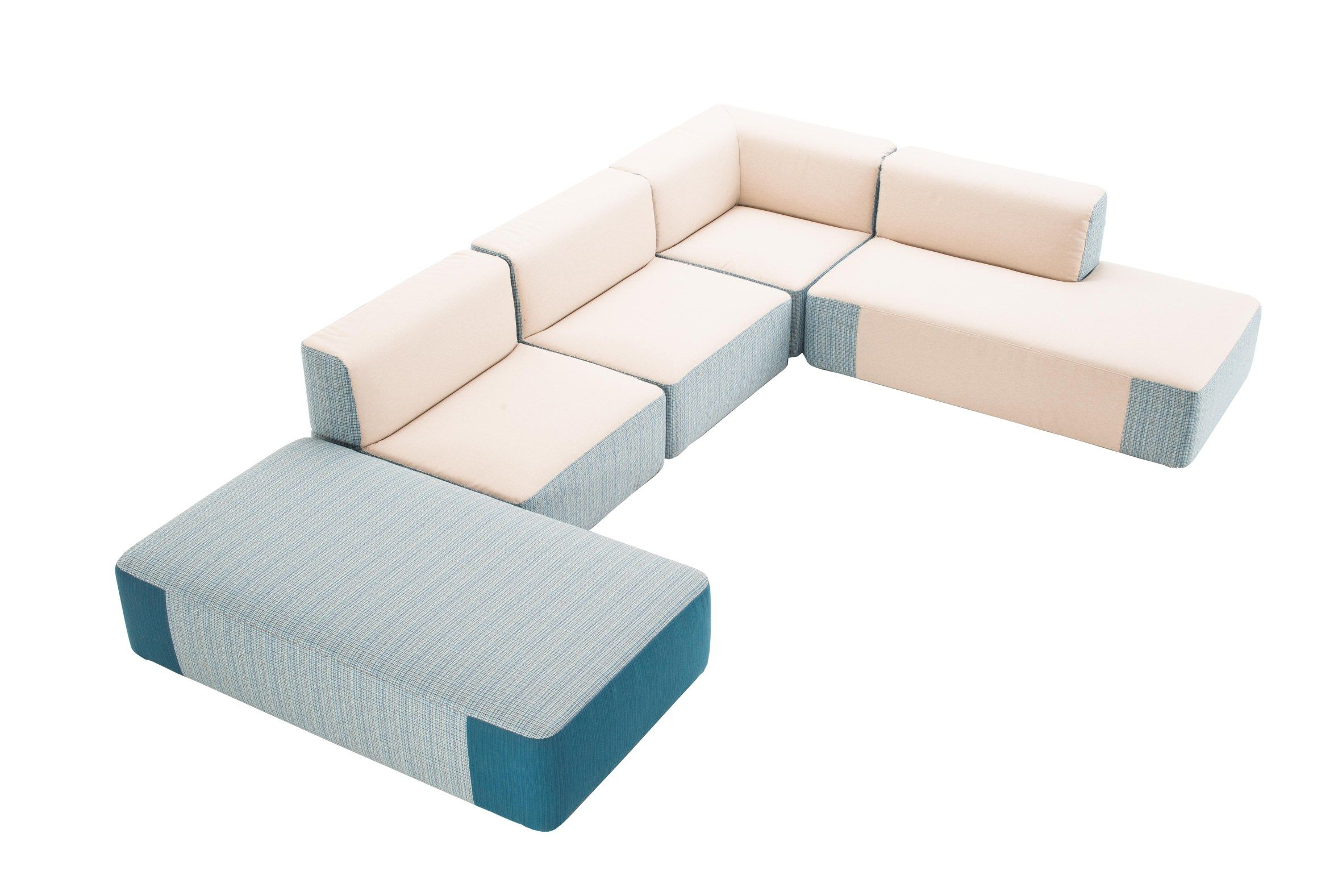 Belt Modular Sectional Sofa by Daniele Lo Scalzo Moscheri for