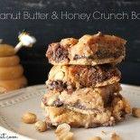 ~Peanut Butter & Honey Crunch Bars!