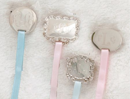 Love it for my princess personalized silver pacifier clips let engraved and personalized pacifier clips negle Image collections