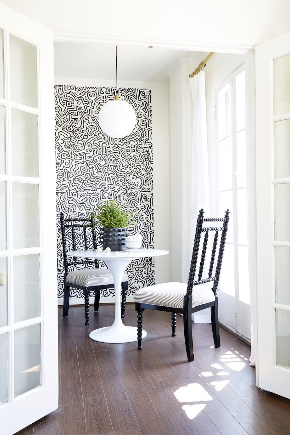 Keith Haring Wall Decals For That Extra POP In A Dining Room. Part 93