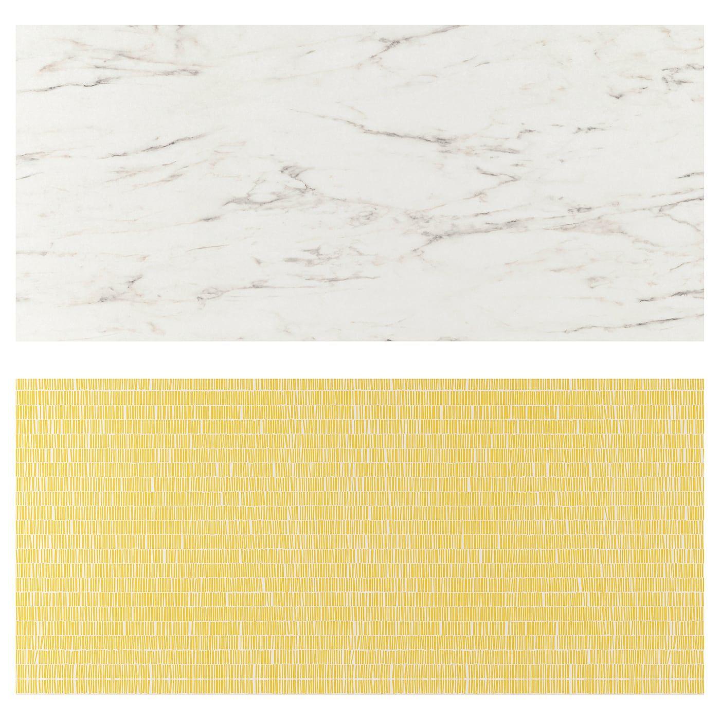 Lysekil Wall Panel Double Sided White Marble Effect Patterned Ikea In 2020 Wandverkleidung Wandpaneele Kuchenwandpaneele
