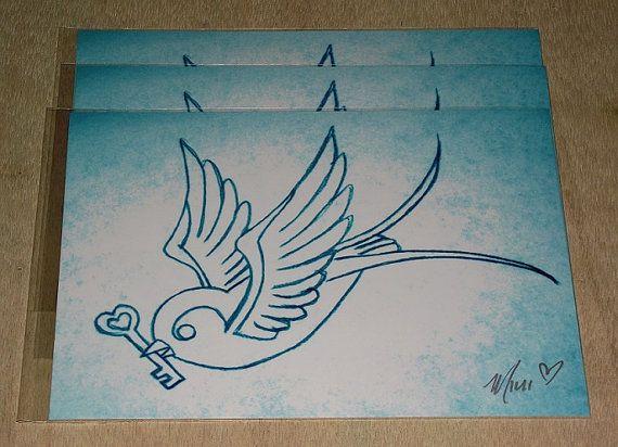 die besten 25 schwalben vogel tattoos ideen auf pinterest. Black Bedroom Furniture Sets. Home Design Ideas