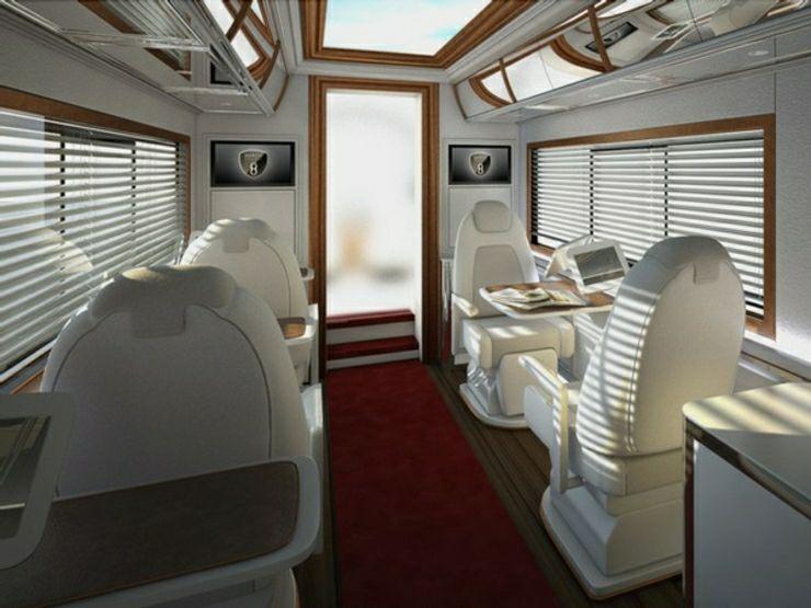 La caravana de lujo m s cara del mundo es grande y - Ver casas de lujo por dentro ...