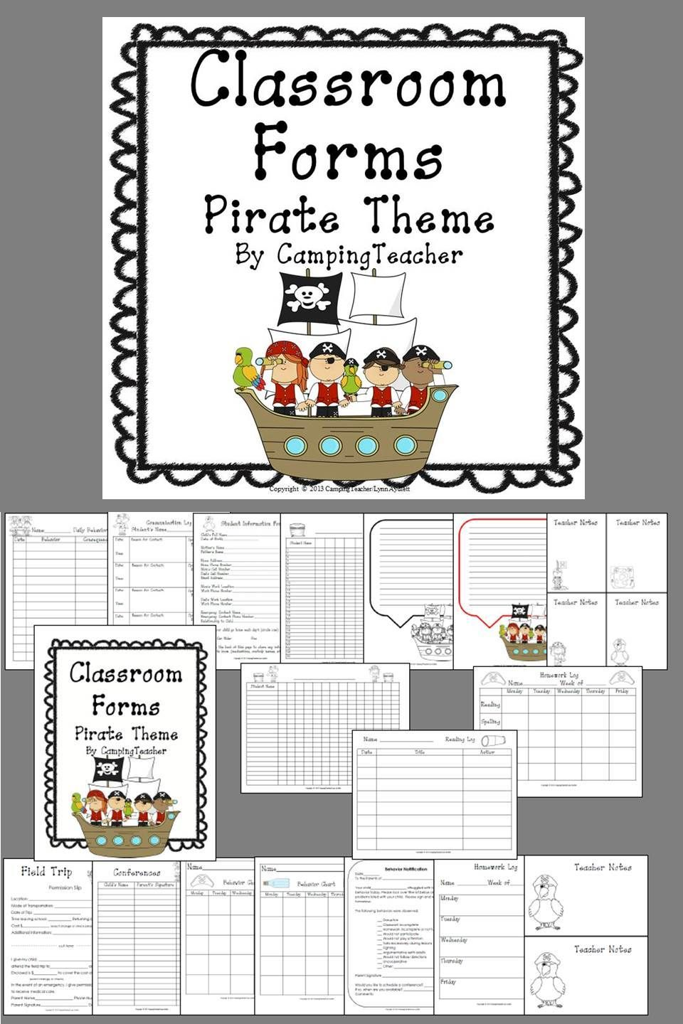 My Most Popular Classroom Forms Pirate Theme Many Teachers Are Decorating Their Classrooms With The E Pirate Theme Classroom Pirate Classroom Classroom Forms Most popular classroom pictures