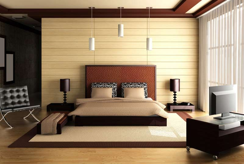 Modern Beautiful Bedroom Interior Design Images With Regard To