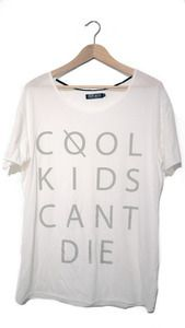 Image of Cool Kids can't die tee