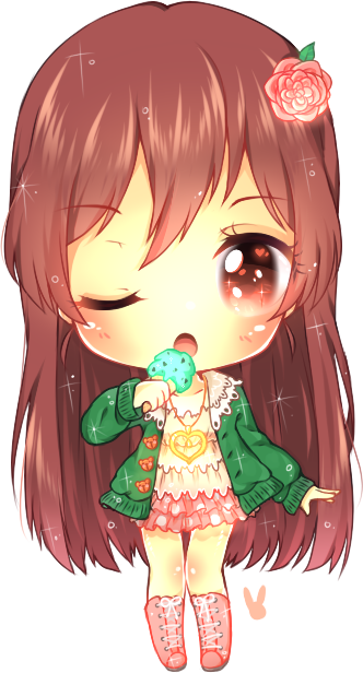 This is not ice cream it 39 s a microphone by jorsu - Ice cream anime girl ...