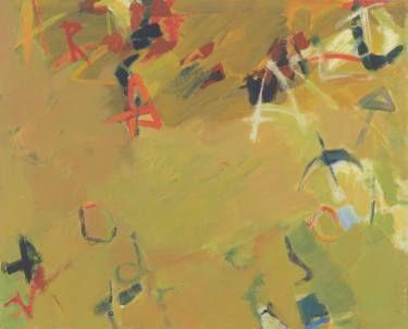 "Saatchi Art Artist Svetlana Yusim; Painting, ""Alphabet."" #art"