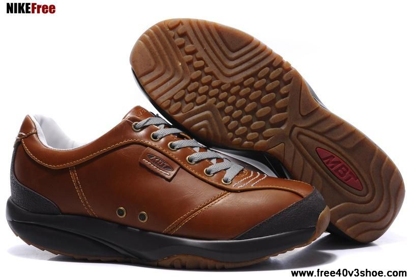 Latest Listing MBT Tembea Tabacoc Brown Black Mens Shoes For Sale