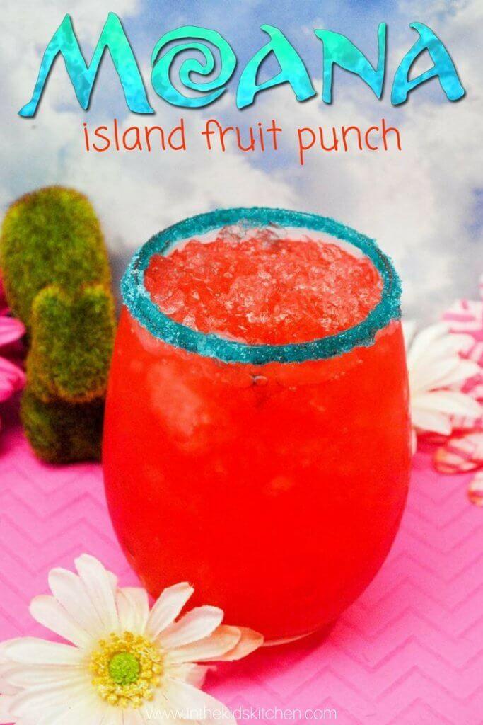 Moana Hawaiian Fruit Punch