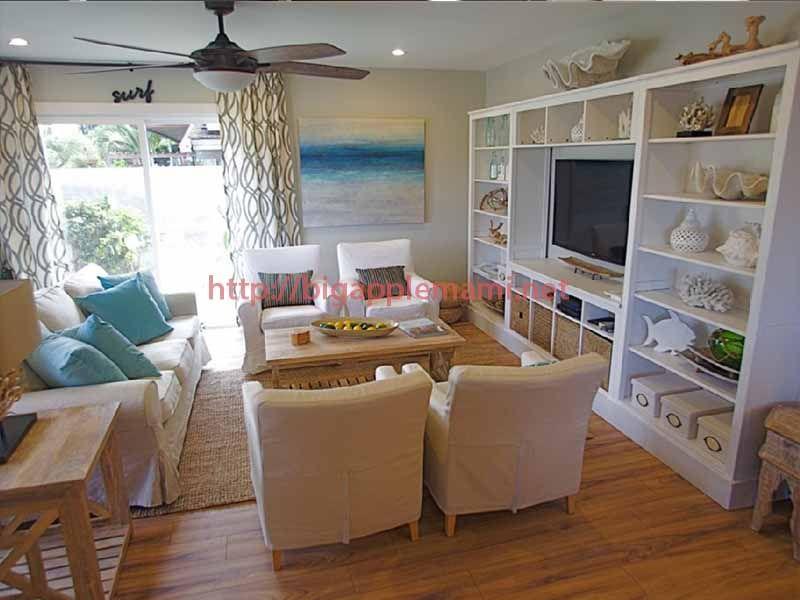 Cool Ocean Themed Living Rooms Beach Theme Living Room Condo