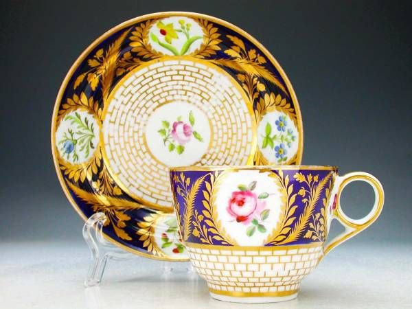Victorian cup and saucer 1850- UK