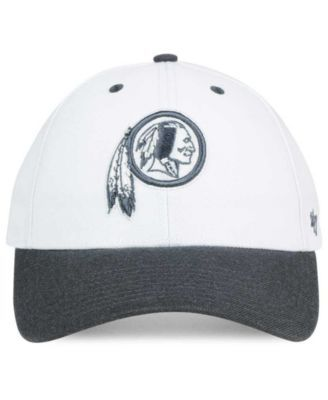 best service f0f48 b1de4  47 Brand Washington Redskins Audible 2-Tone Mvp Cap - White Adjustable