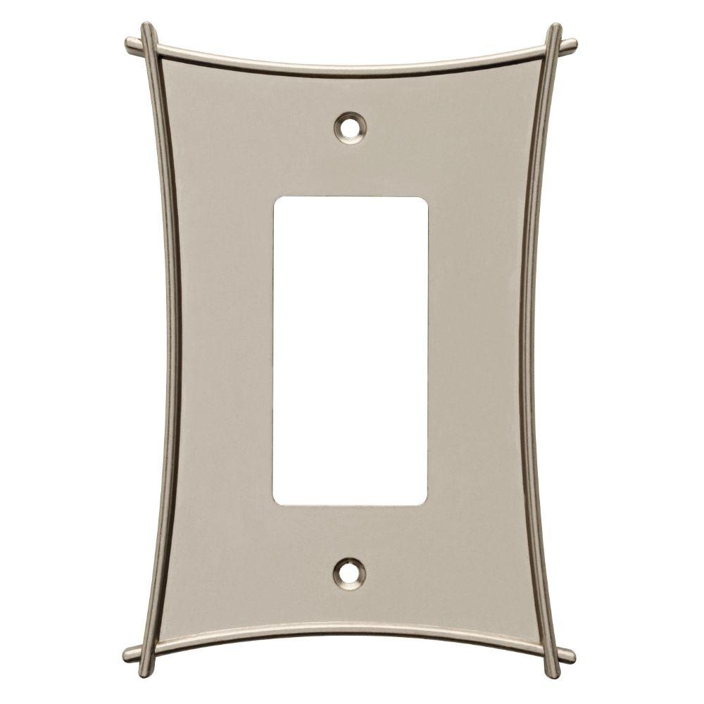 Liberty Bellaire Decorative Single Rocker Switch Plate