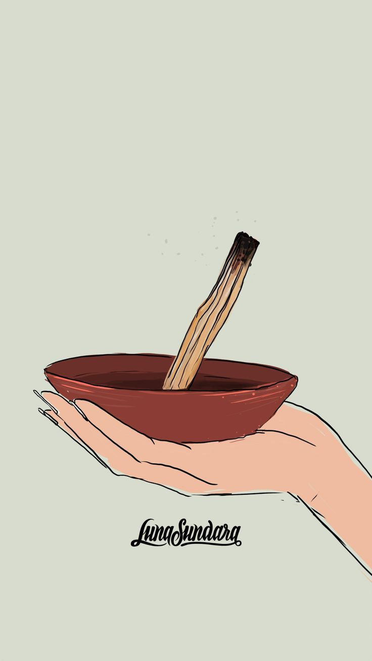 Learn to use palo santo smudging to relax clean energy in