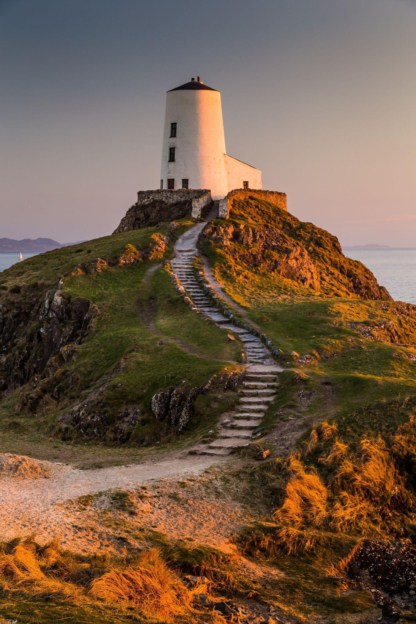 Ynys Llanddwyn or Llanddwyn Island on Anglesey, North ...