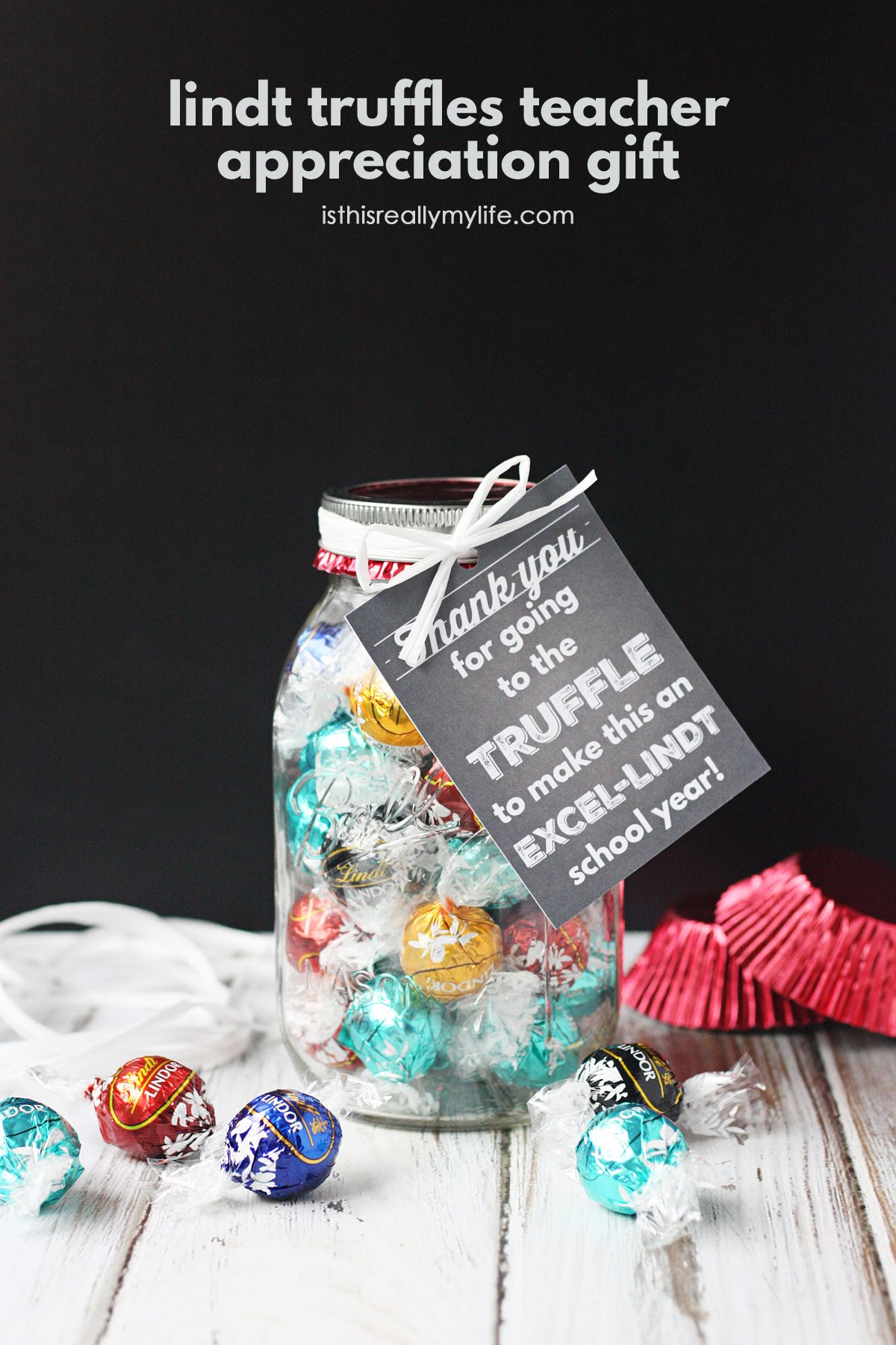Lindt truffles teacher appreciation gift with free printable gift lindt truffles teacher appreciation gift with free printable gift tag negle Image collections