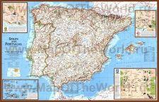 Karty Ispanii Karty Maps