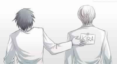L Lawliet and Light Yagami | Kira        _Death Note