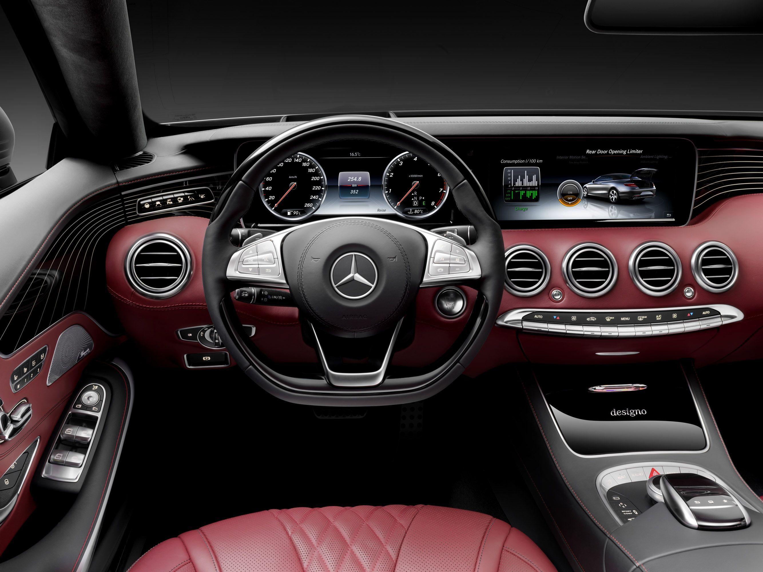 Motor Benz S Class Mercedes S Class Mercedes Benz Interior