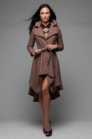 Brown Flirty Trench Fondren S Fashion House For Liliana But In A Brighter Color Fashion Modest Fashion