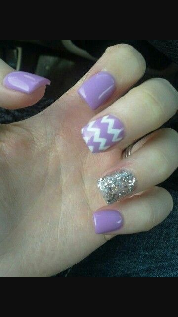 Light Purple Short Acrylic Nails Square Acrylic Nails Cute Acrylic Nail Designs