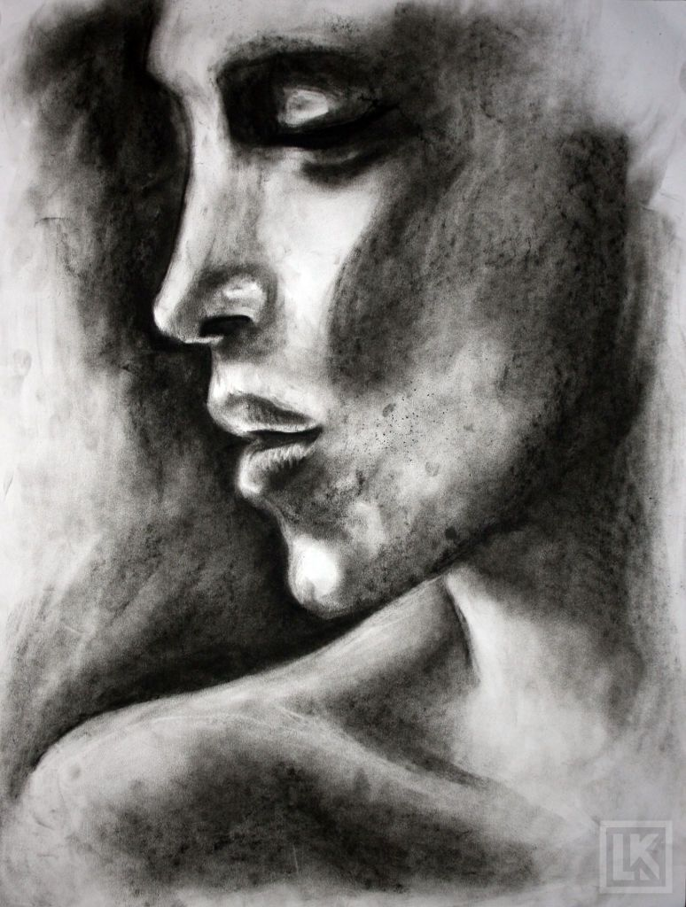 Easy charcoal sketches for beginners